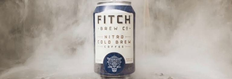 fitch cold brew with smoky effect