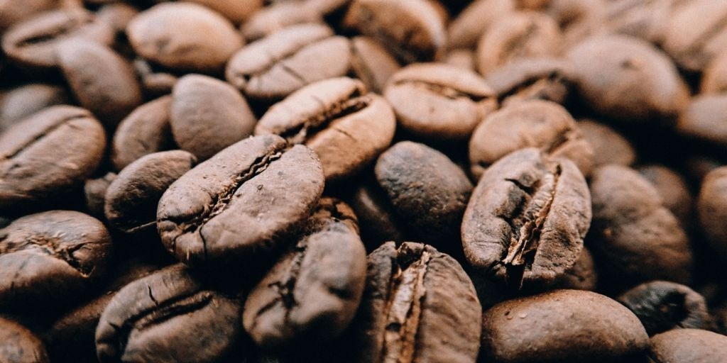 Roasted coffee beans
