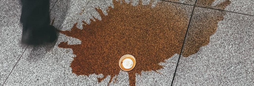 coffee stains, coffee spill, black coffee