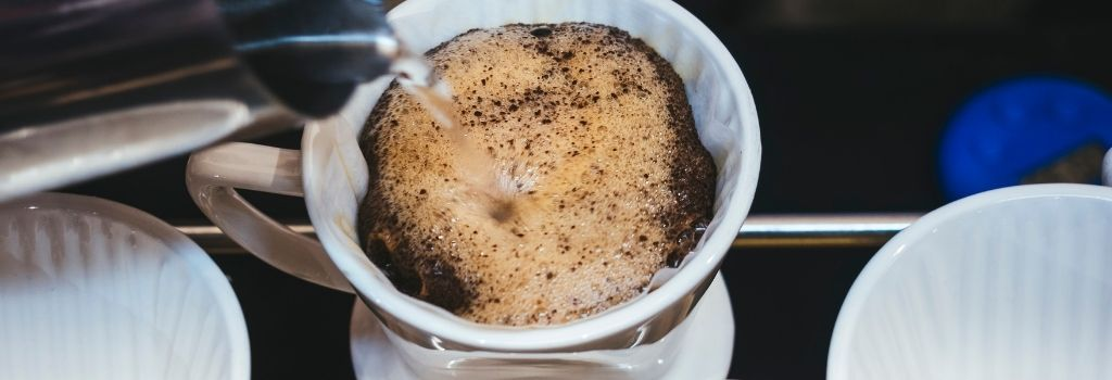 coffee grounds, water, brewing, water ratios